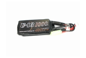 U-13 LiPo 7,4v 1000mAh 40C Stick/Nunchuck