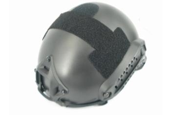 Strike systems fast Helmet Black