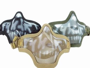 DRAGONPRO Wire Mesh Mask Skull