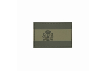 DRAGONPRO Patch PVC Flag Spain 75x50mm - OD