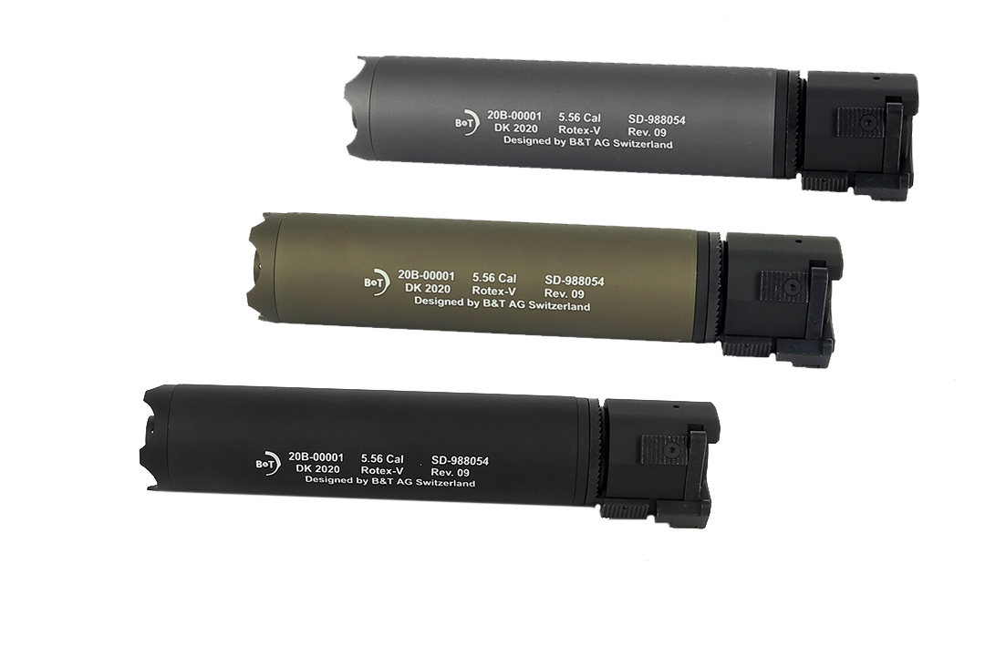 AGS B&T ROTEX-V QD Silencer 197mm