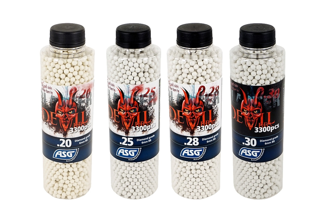 ASG Devil Blaster BB 0.20g 3000 bottle airsoft pellets