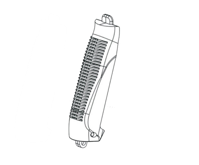 ASG CZ-75 P 07 Backplate (sparepart)