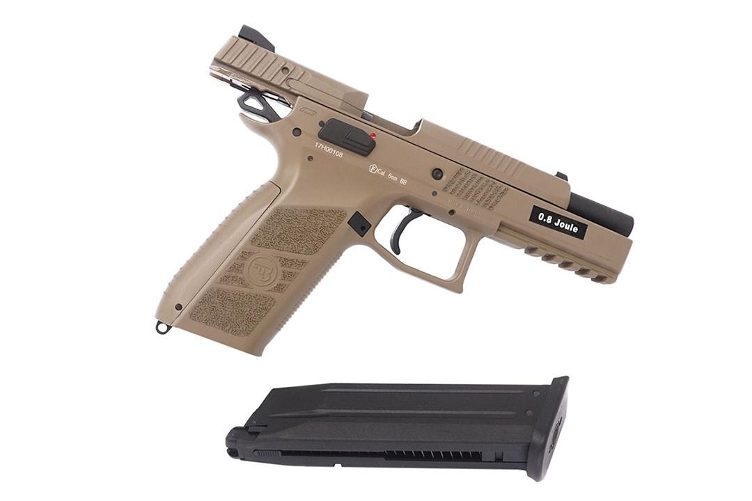 ASG CZ P-09 FDE, Polymer Slide