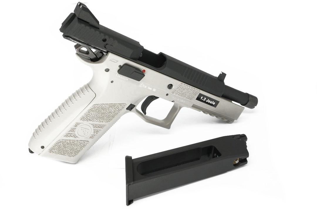 ASG CZ P-09 Metal Slide CO2 - Urban Grey