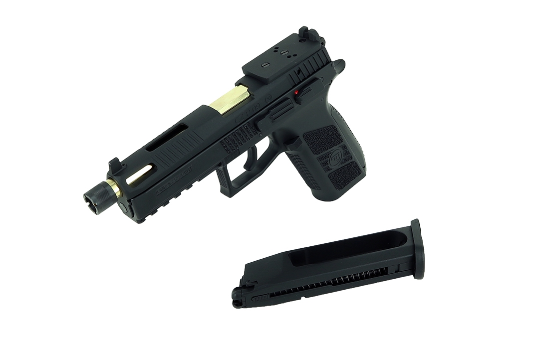 ASG CZ P-09 Optic Ready Black CO2