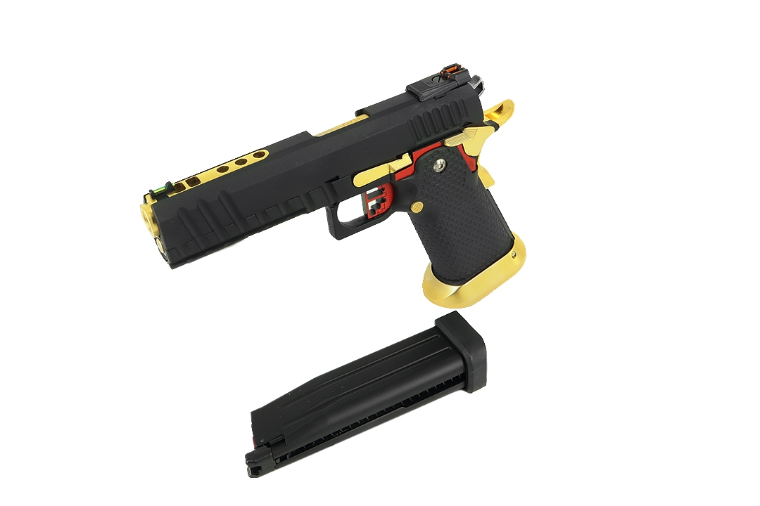 AW Custom HX2002 Black/Gold/Red