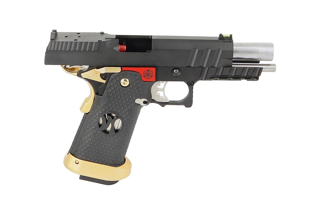 AW Custom HX2601 Black/Gold/Red