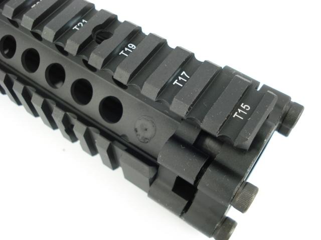 BD LITE Style Aluminum 9 inch RAIL-BK