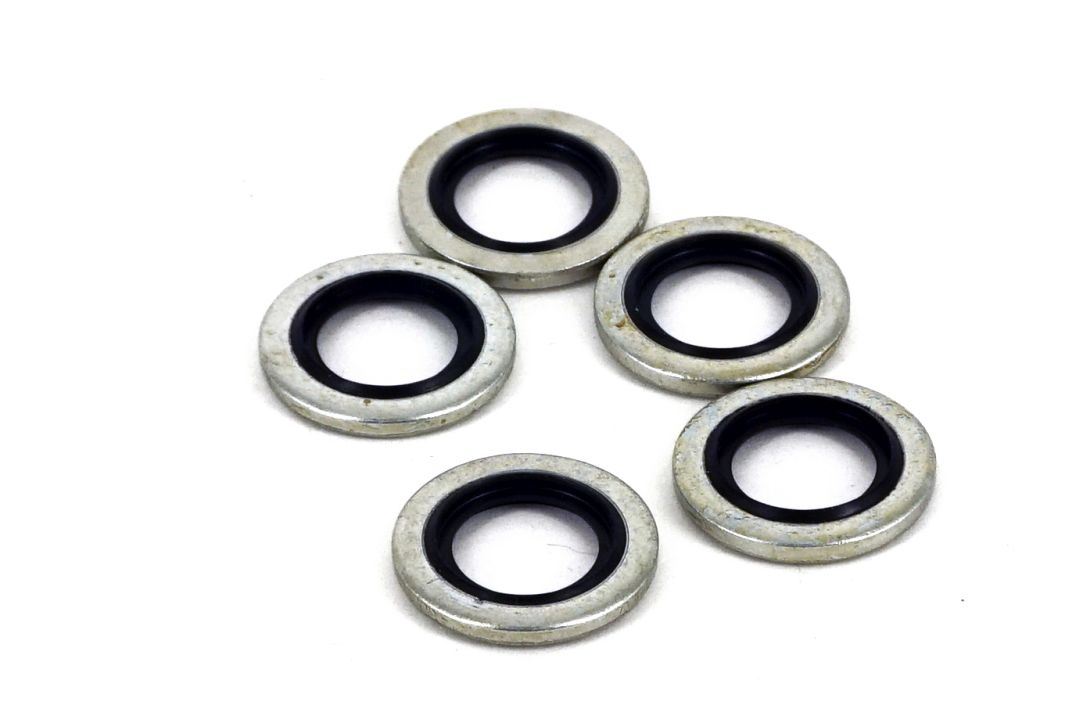 Best Fittings 1/4 Inch BSP Bonded Seal Washers 5 Pieces