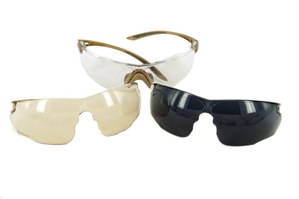 Bollé Combat Kit Goggles Tan