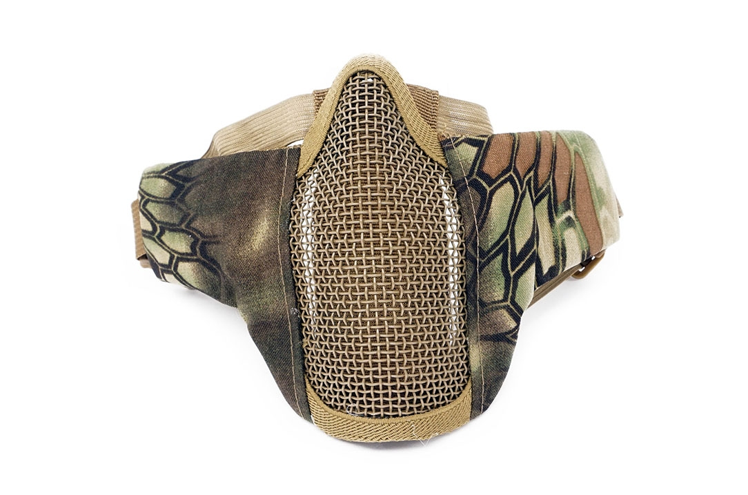 Cobra Steel Mesh Mask Soft with Helmet clips