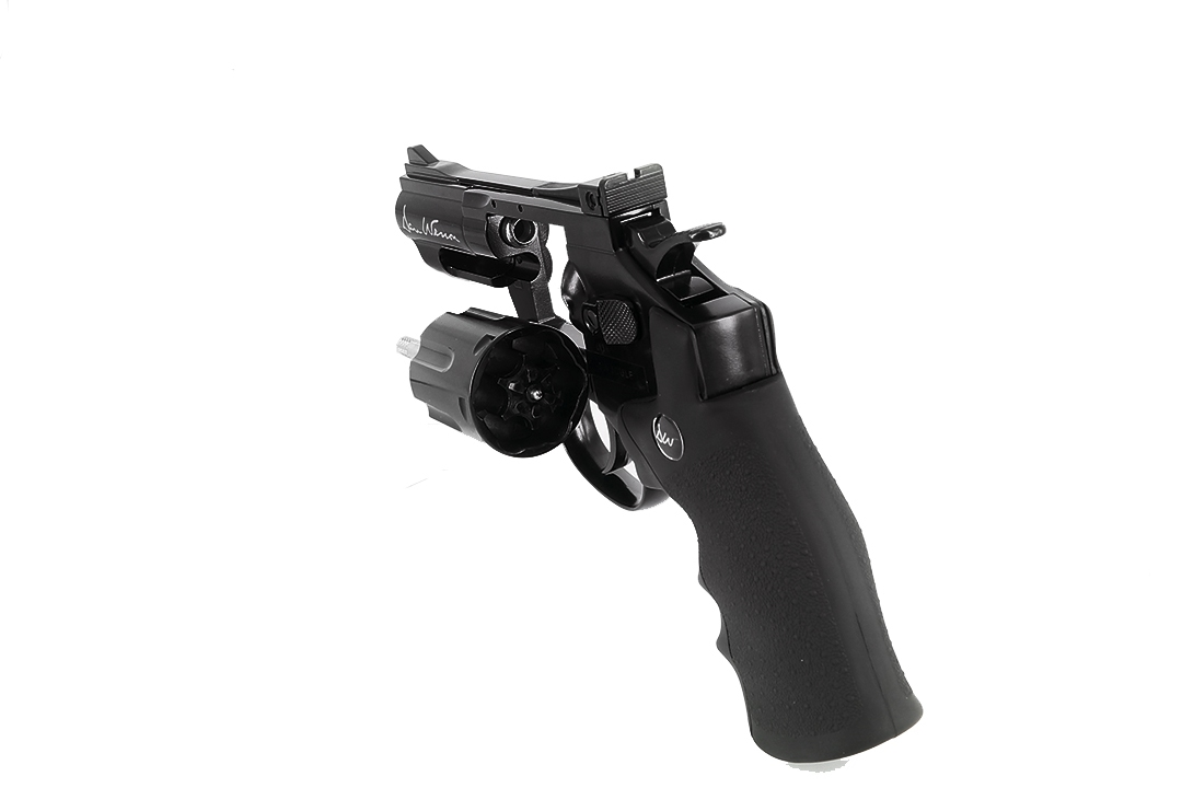 Dan Wesson 2.5 inch Revolver Black (High Power) CO2