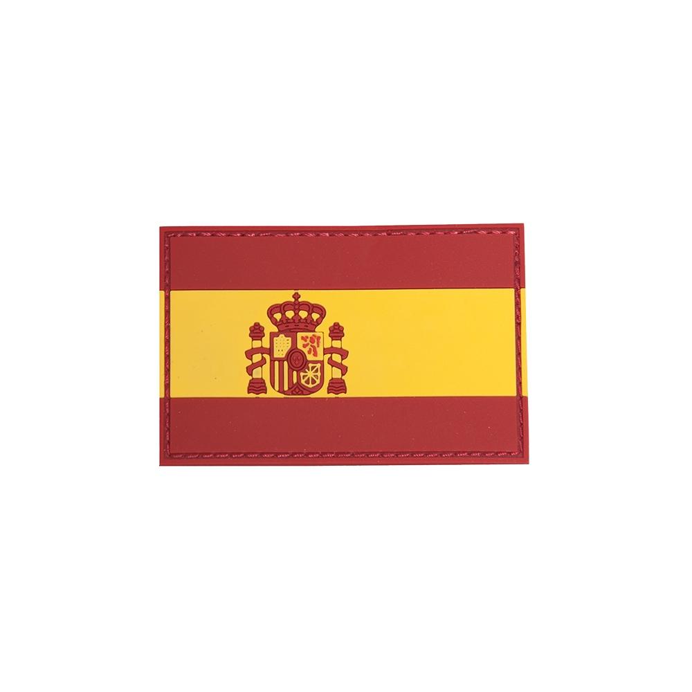 DRAGONPRO Patch PVC Flag Spain 75x50mm
