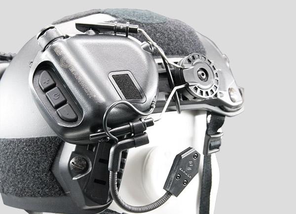 EARMOR M11 Helmet Rails Adapter Attachment Kit