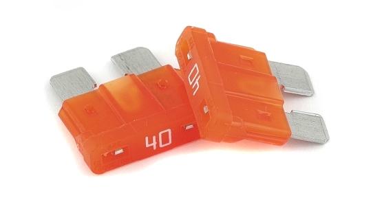 GATE Mini Fuse 40A (2pc)
