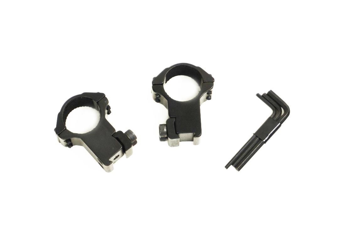 Hawke Match Ring Mounts 9-11mm High (1inch/25mm)
