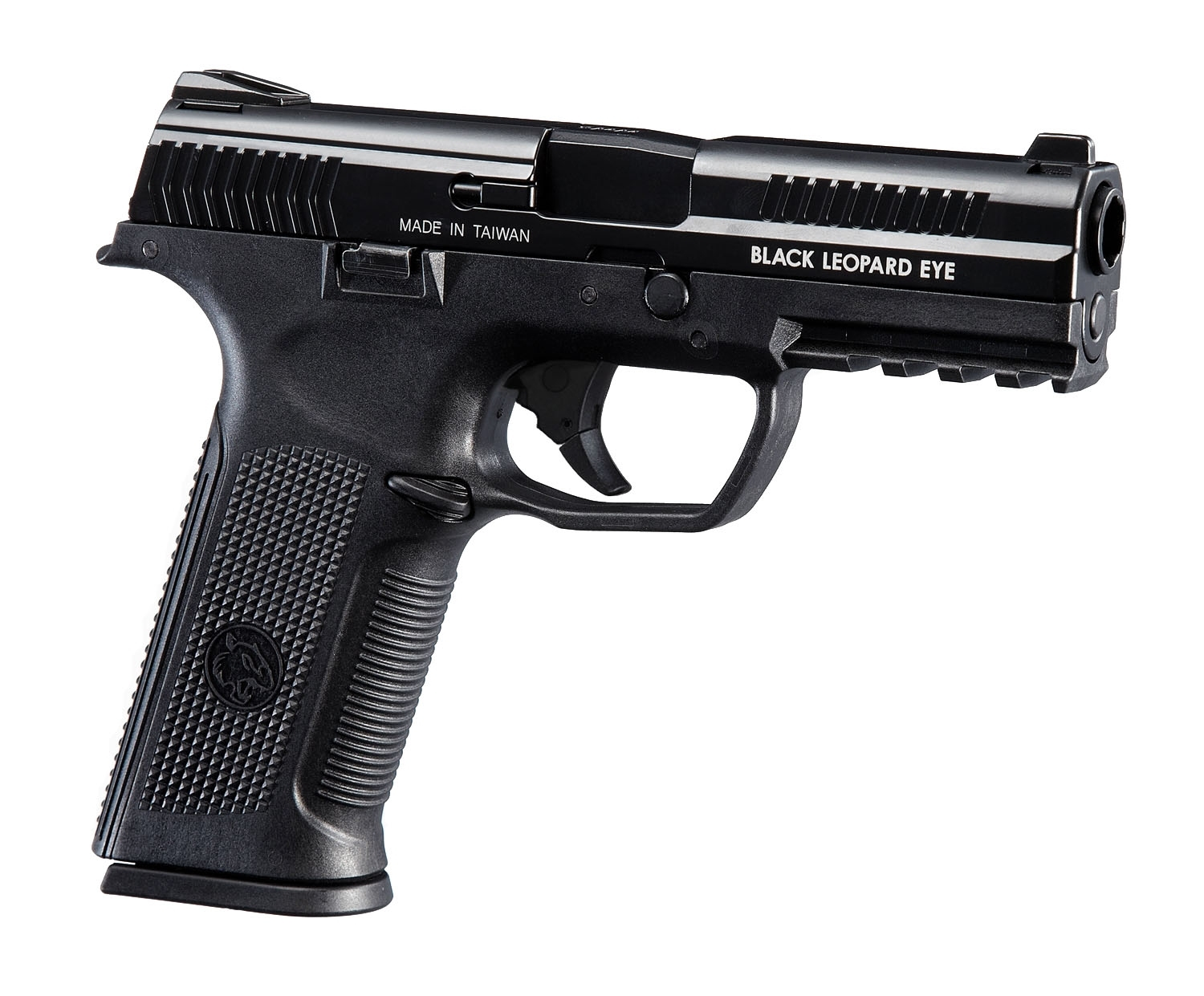ICS Alpha Gas Blowback Pistol Black