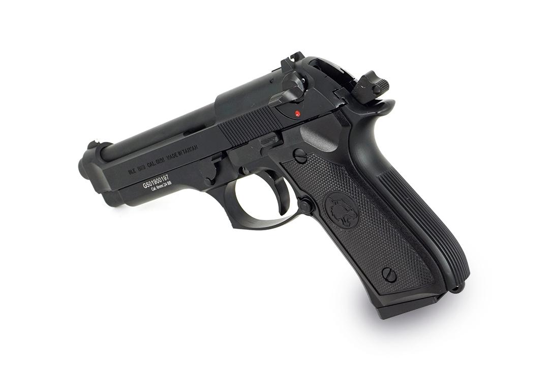 ICS BLE-M9 Gas Blowback Pistol Black