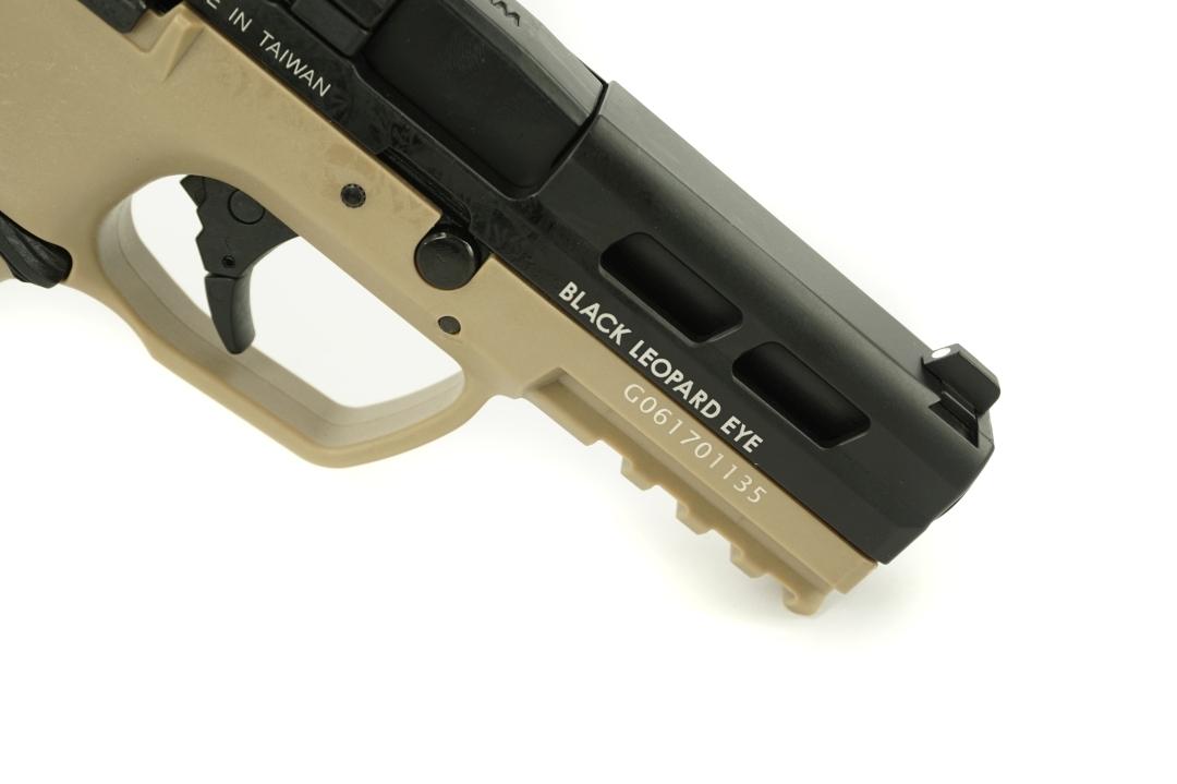 ICS BLE-XAE Gas Blowback Pistol Two-Tone BKTN