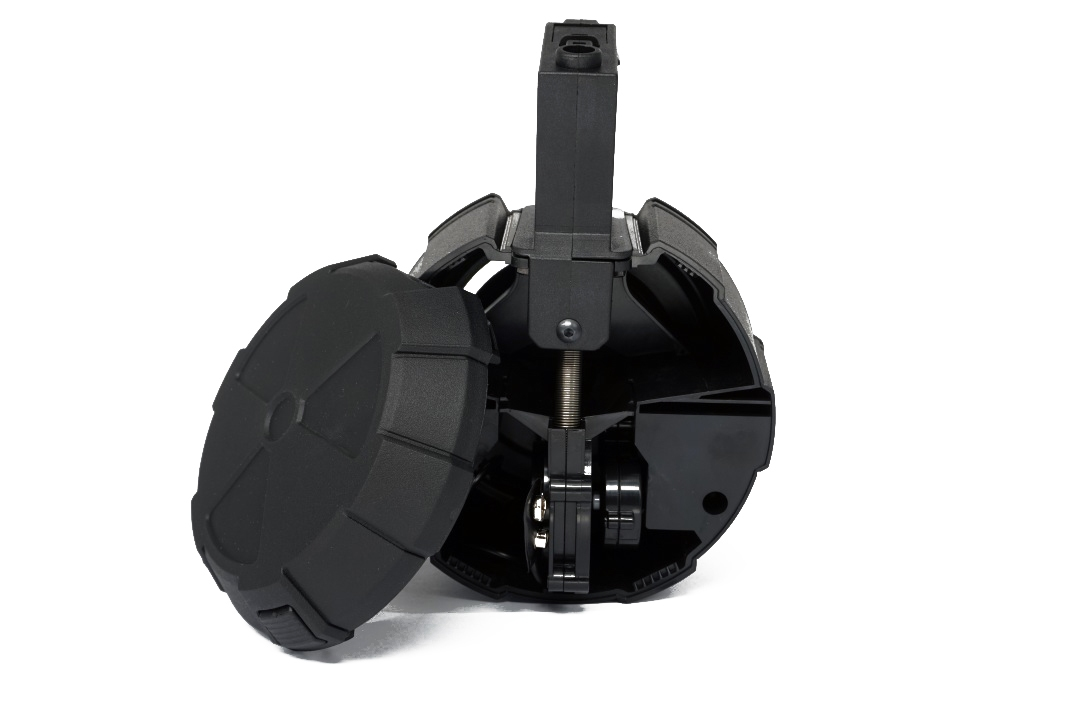 ICS Single Electric Drum Magazine Black