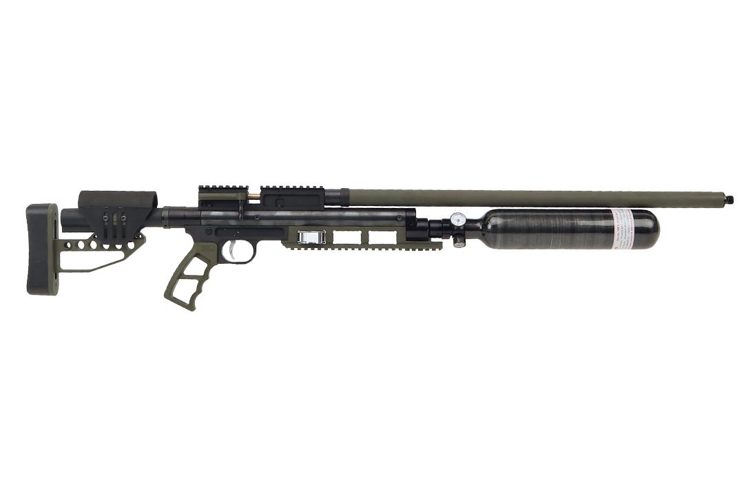 Jefferson State Air Rifles Raptor .357 Custom Cerakote OD