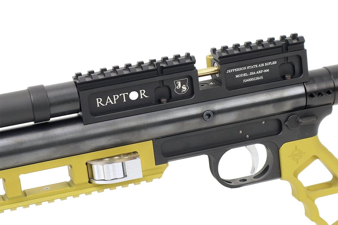 Jefferson State Air Rifles Raptor Custom Black - Gold