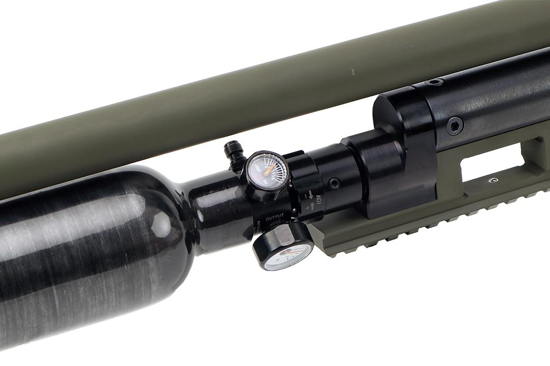 Jefferson State Air Rifles Raptor Custom Cerakote OD