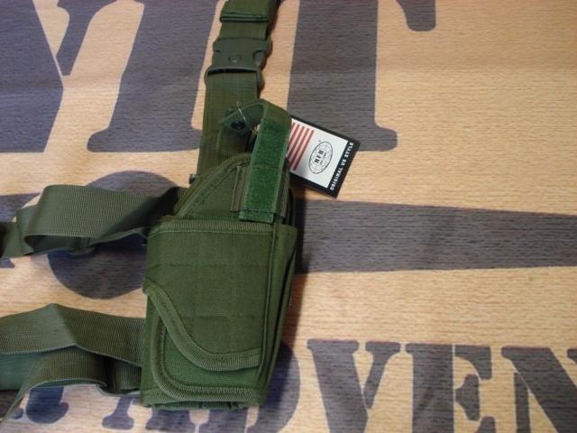 MFH adjustable leg holster right olive drab