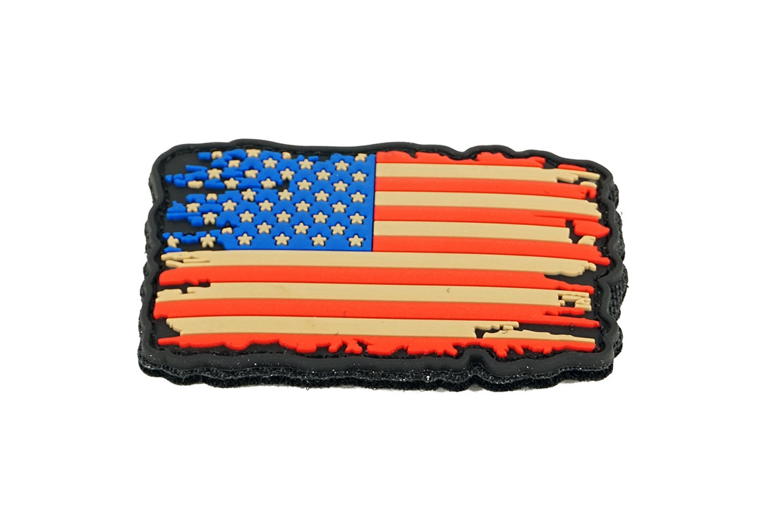 Patch PVC USA Vintage