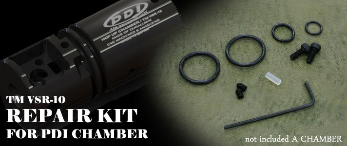 PDI Repair Kit for TM VSR-10 PDI Chamber