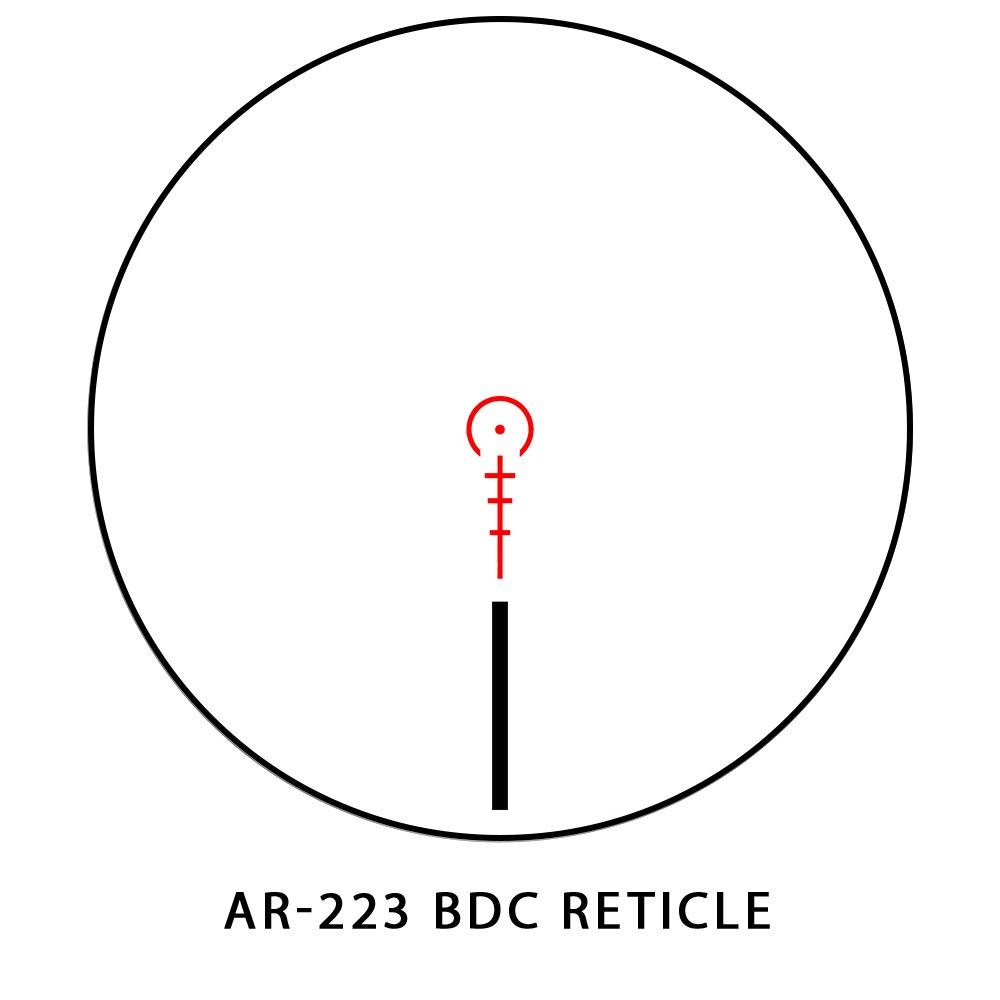 Sightmark Core TX 1-4x24 AR-223 Tactical Riflescope