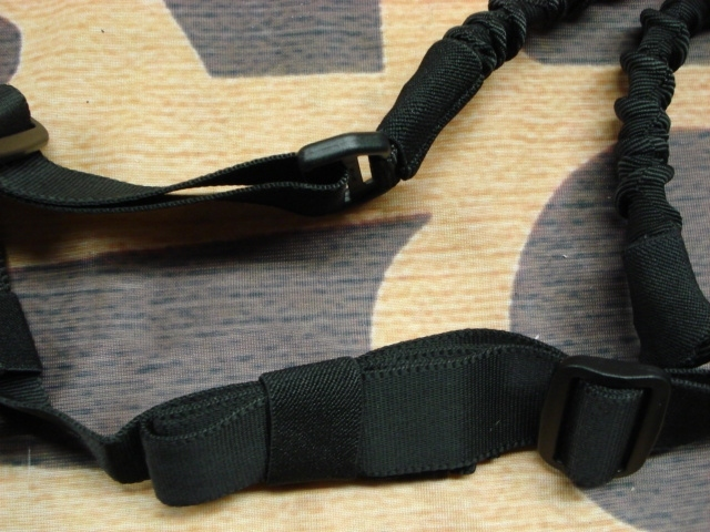 Strike Systems 2-point Bungee Sling Black