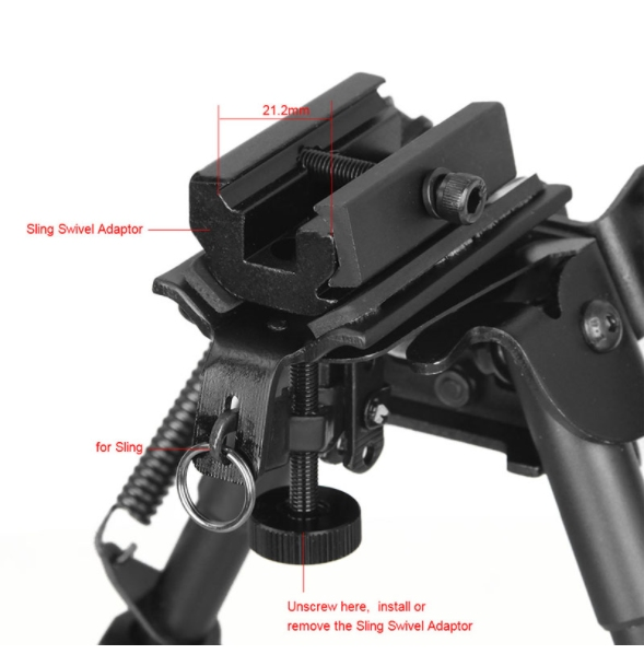 U-13 Tactical Bipod 9-13 inch