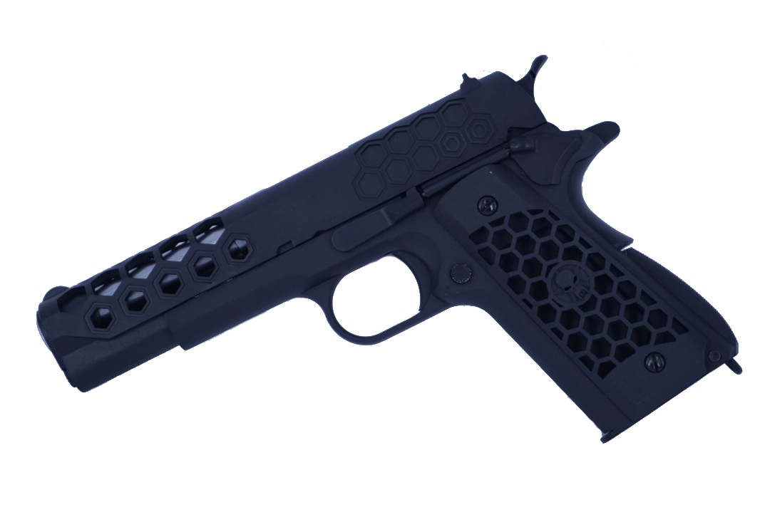 WE-Tech 1911 Hex Cut Gen2 Black