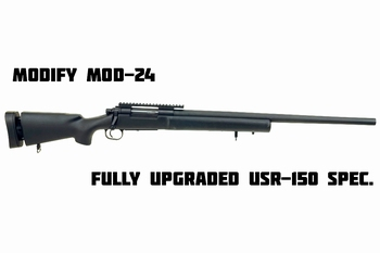 MODIFY MOD24-USR150 Sniper Rifle BLACK