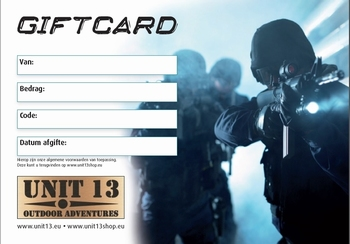 Unit 13 Shop Gift card