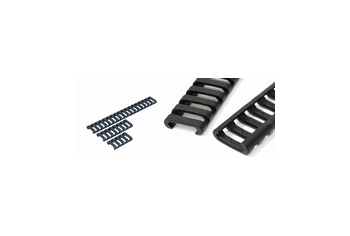 Element Low Profile Rail Cover Set Black