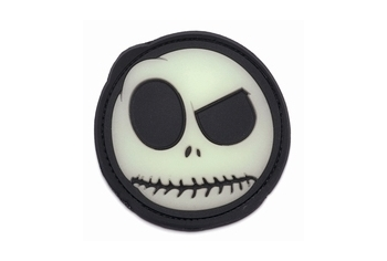 Patch PVC Nightmare Smile (Glow In the Dark)
