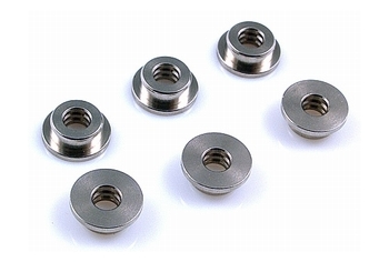 MODIFY Stainless Bushing - Double Oil Tank 6mm (6 pcs)