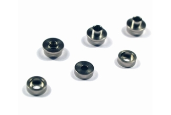 MODIFY Stainless Bushing, Modular Smooth Gearset 7mm (6pcs)