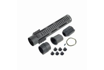 ICS M4 Free Floating Tubular Handguard L Black