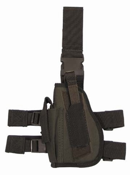 MFH Leg Holster Left Nylon OD