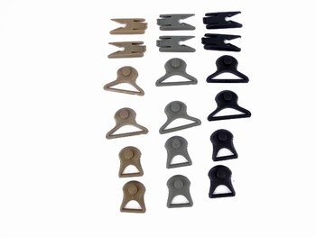 Emerson Spare Helmet Parts NR1 (Spare Clips)