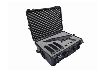 ASG CZ Scorpion EVO3 A1 field case with custom foam inlay