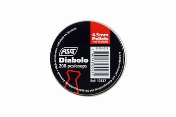 ASG Airgun Pellet Diabolo 4.5mm, 200pcs.