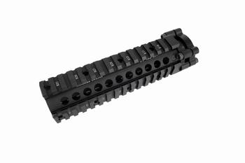 BD LITE Style Aluminum 7 inch RAIL -BK