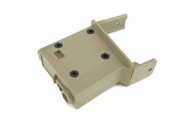 ICS Drum Mag Adapter for M4 Tan