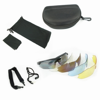 U-13 Tactical Glasses 5 Lens Kit