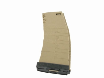 G&G 120R Mid-Cap Magazine for GR16 (Tan/Black)